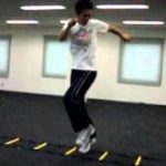 横や後ろへのステップが上達するトレーニング