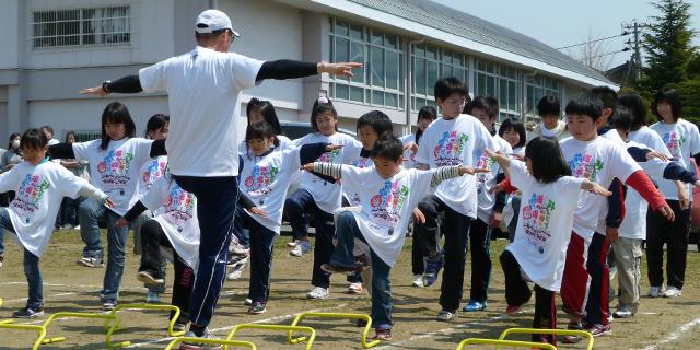 飯野川中学校