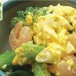 ブロッコリーとえびと卵のサラダ