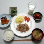 6つの料理と五大栄養素